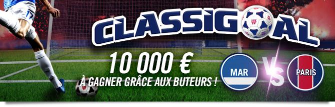 Classigoal : 10 mille euros à gagner grâce aux buteurs
