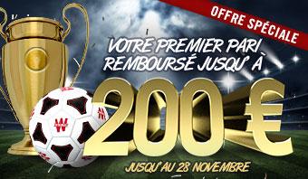 Bonus 200 €