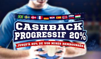 Handball Cashback Progressif