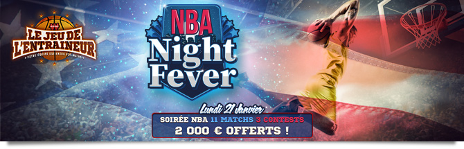 NBA Night Fever - Classement contests 10 €