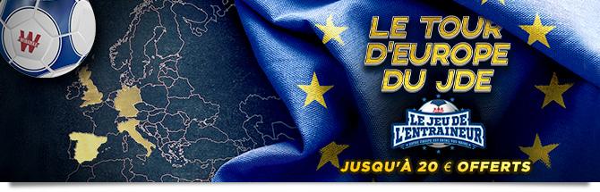Tour d'Europe du JDE
