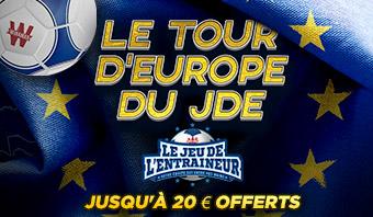 Le tour d'Europe du JDE