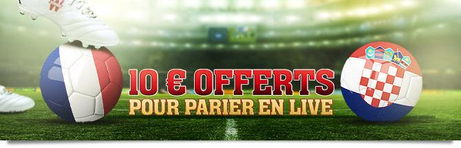 10 euros offerts