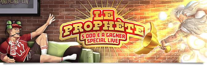 Le Prophète Live