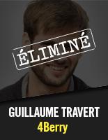 4Berry - Guillaume Travert éliminé