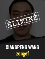zongef - Xiangpeng Wang éliminé