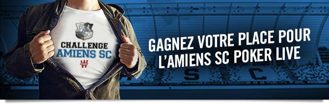 Challenge Amiens SC sur Winamax