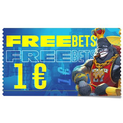 1 € de Freebets