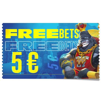 5 € de Freebets
