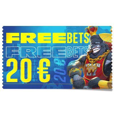 20 € de Freebets
