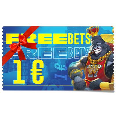 Pari gratuit 1 € à offrir