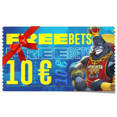 Pari gratuit 10 € à offrir