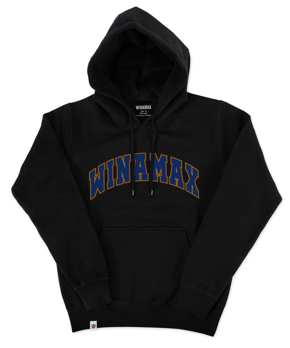 "Men Hoodie SweatShirt ""Varsity""<br /> <i><u> (different colours available)</u></i>"