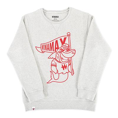 """Sweat-Shirt Femme """"Shark""""<br /> <i><u>(plusieurs coloris disponibles)</u></i>"""