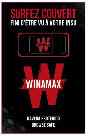 Cache Cam WINAMAX