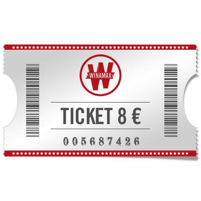 Ticket 8 €