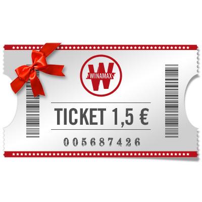 Ticket 1.5 € Expresso para regalar