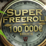 Super Freeroll 100 000€ : décrochez le jackpot pour pas un sou !