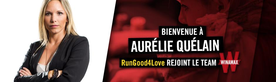 Aurélie Quélain rejoint le Team Winamax