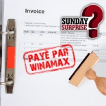 Sunday Surprise : Winamax paie vos factures