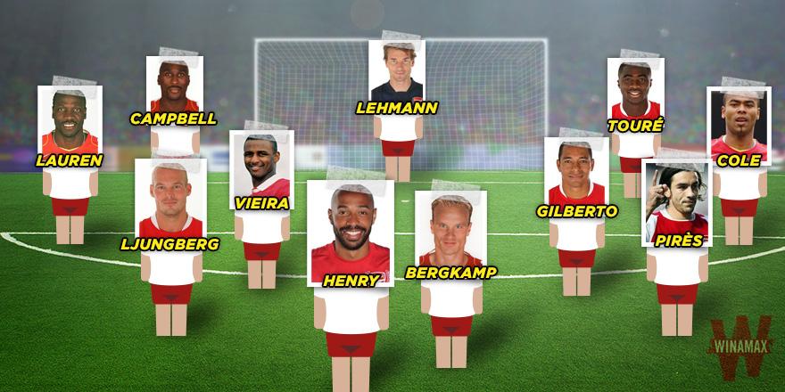 Football Classics Arsenal S Invincibles Of 2003 04 News Winamax