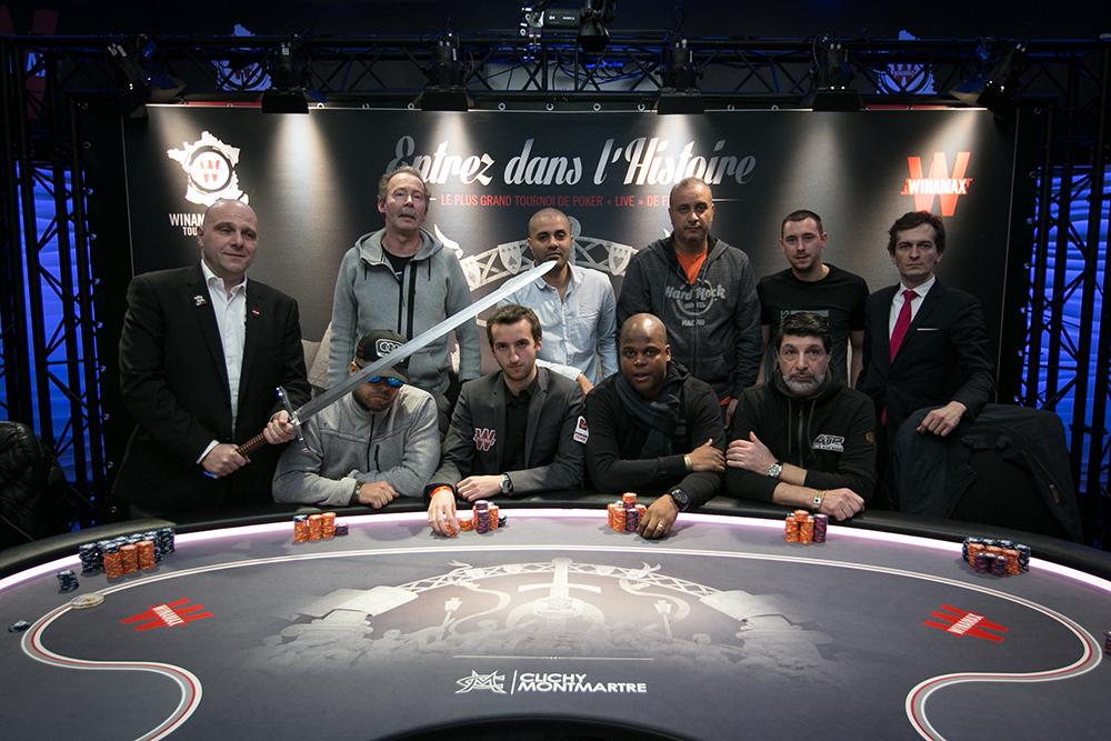 Winamax Poker Tour 2015 2016 Table Finale