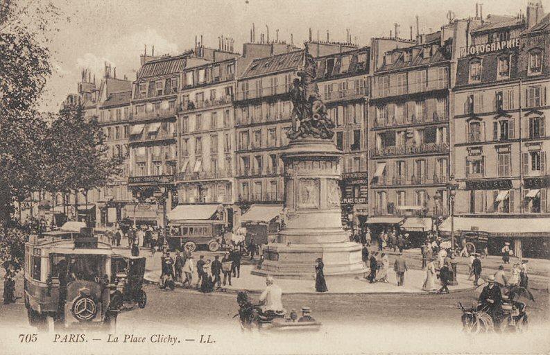 Place de Clochy 1900