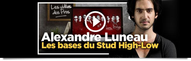 Luneau Vidéo Stud High Low
