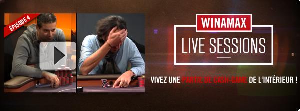 Winamax Live Sessions S03E04 Bandeau