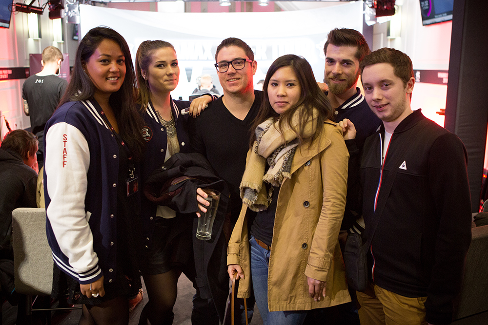 Sandrine + Staff