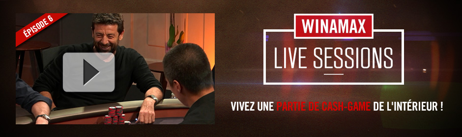 Winamax Live Sessions épisode 6