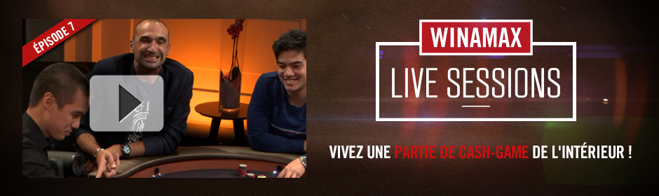 Winamax Live Sessions