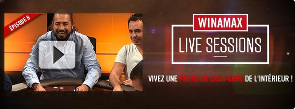 Winamax Live Sessions S03E08 Bandeau