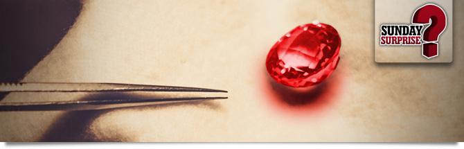 Sunday Surprise Red Diamond