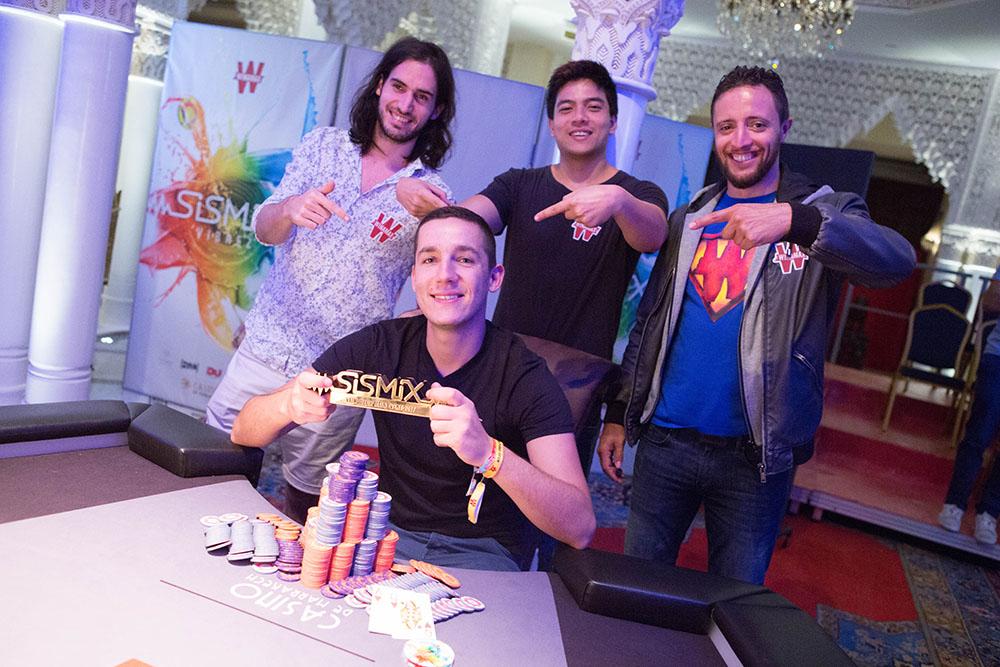 Hugo Larachiche Win #6