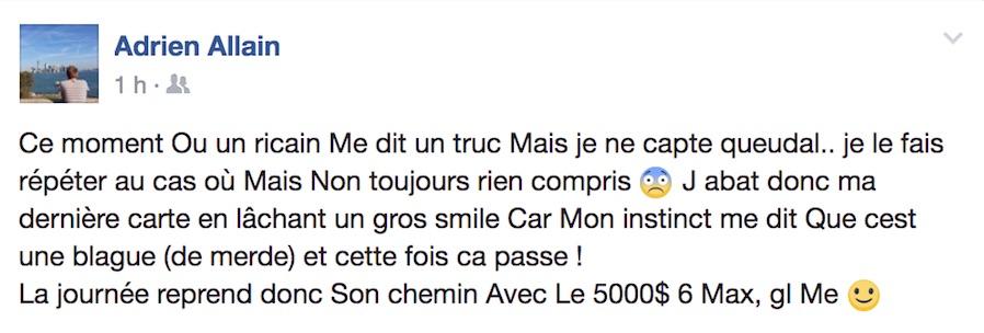 Cool Story Adrien Allain