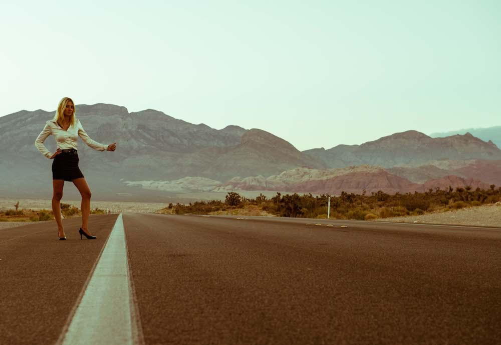 Gaelle Baumann Desert Autostop