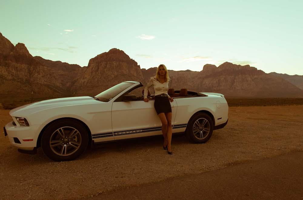 Gaelle Baumann Desert Mustang 2