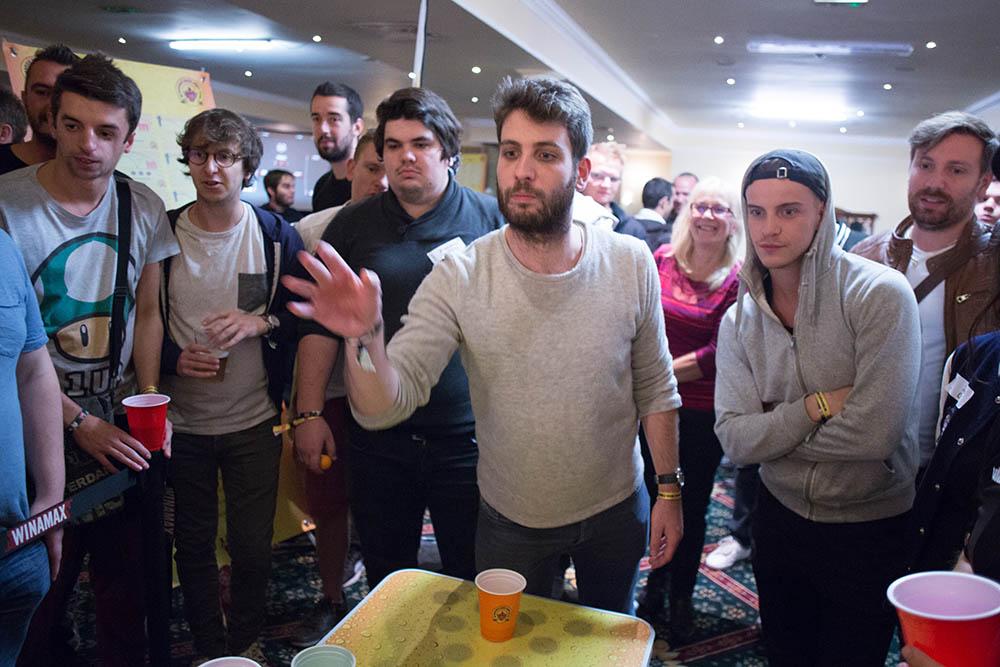 Matthieu Rodriguez beer pong