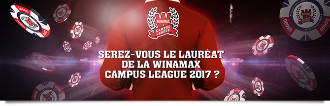 Winamax Campus League Bandeau