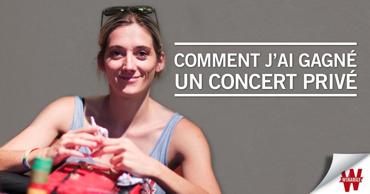 Gaëlle Blog Concert Facebook
