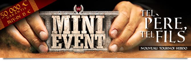 Mini Event Bandeau