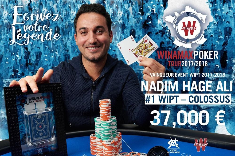 Nadim Hage Ali Win Colossus