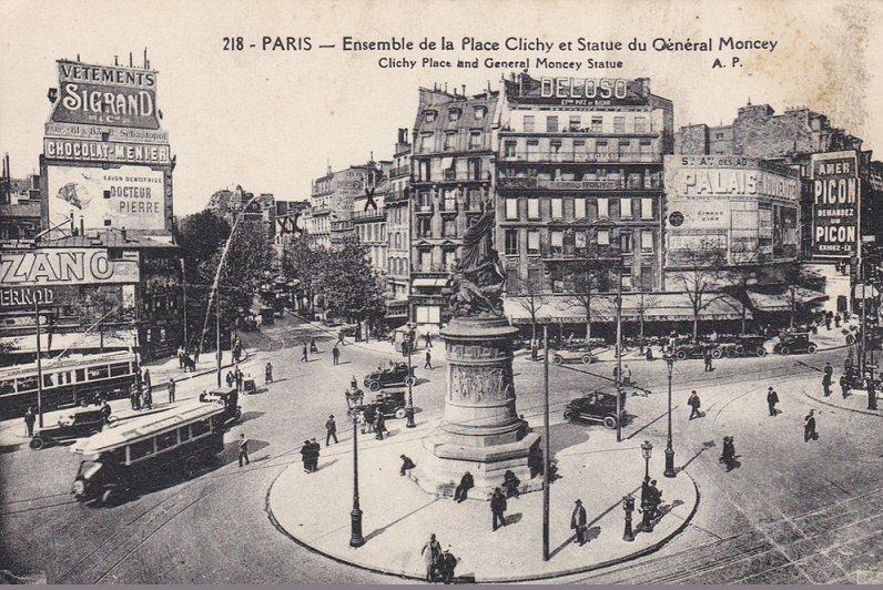Place de Clichy Vintage