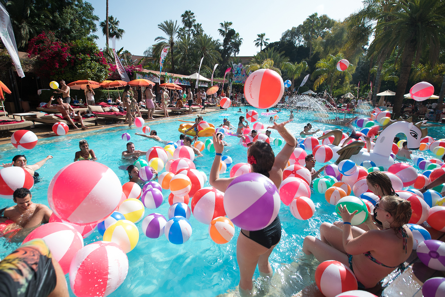 Pool Party Ballons