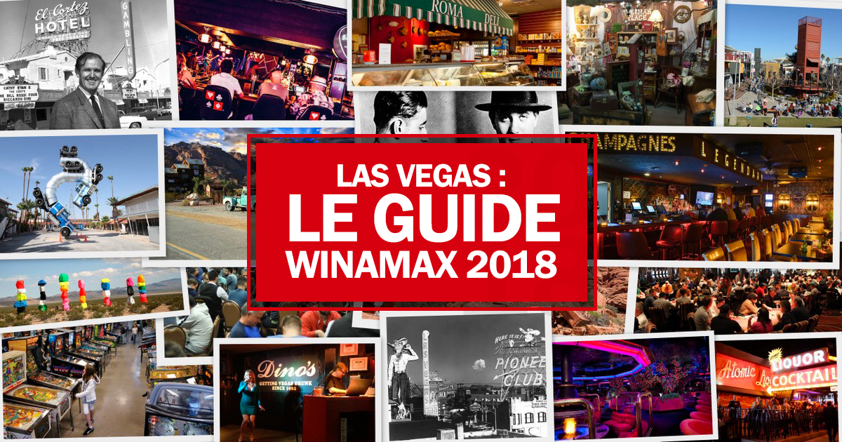 Las Vegas : le guide Winamax 2018