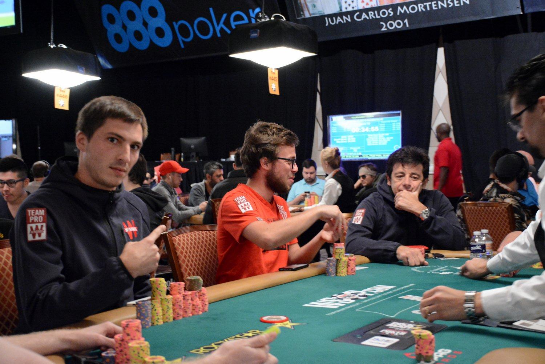 Guillaume Diaz - Romain Lewis - Patrick Bruel WSOP