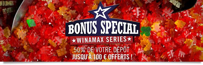 Bonus Winamax Series