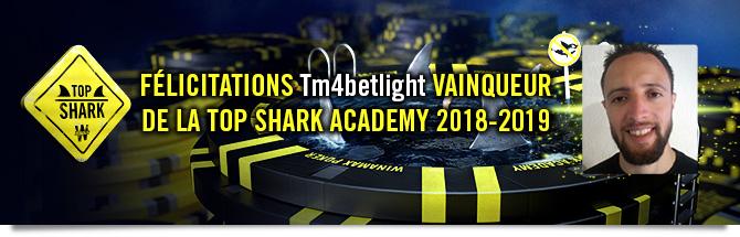 Aladin Reskallah remporte la Top Shark Academy