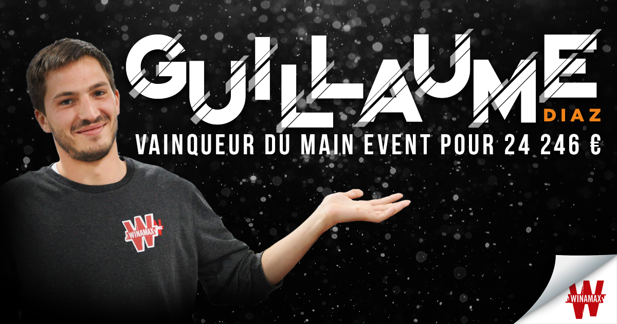 Guillaume Diaz Main Event